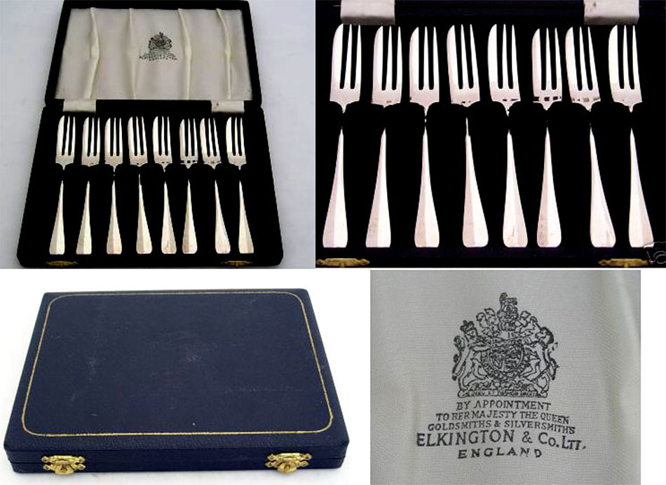 """Fish Fork // Forks 6 1//2/"""" MAPPIN /&  WEBB Cutlery LOUIS XVI Pattern"""